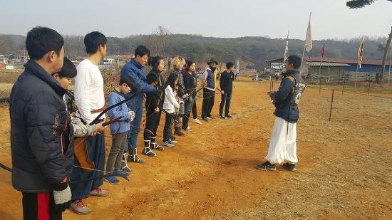 2차 마상무예 훈련