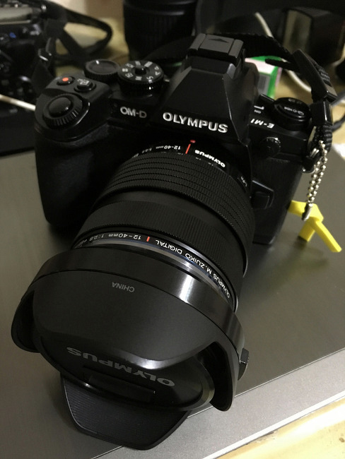 카메라를 또 샀다, 올림푸스 E-m1.