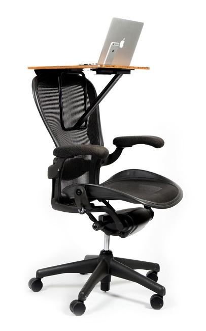 의자를 책상으로 사용하자 - StorkStand 2