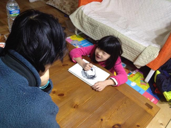 봄이 1학년 겨울방학생활(6)-인물크로키