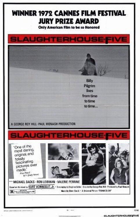 죽음의 순례자(Slaughterhouse-Five)... 조지 로이 힐, 마이클 삭스... 제5도살장 원작 영화