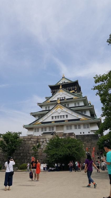 일본여행 오사카성 천수각