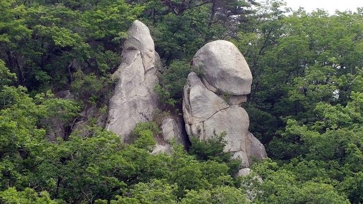 가평 운악산 포천 운악산 산행