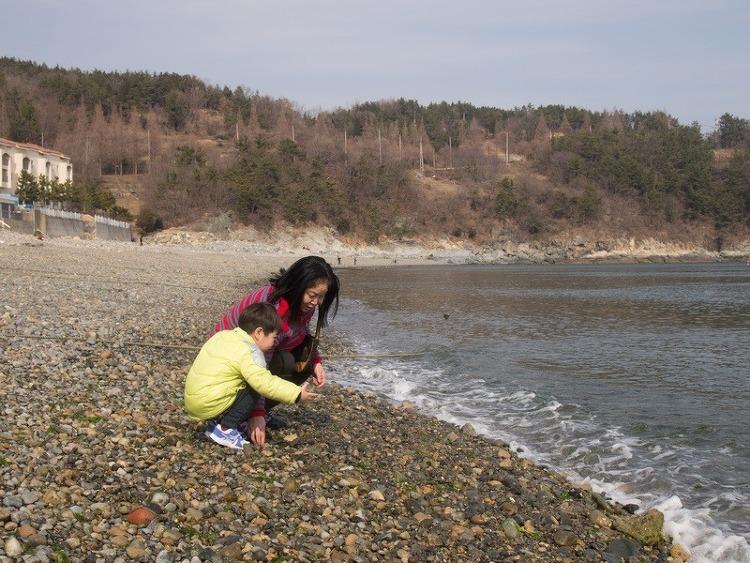 만성리해수욕장 - 20150220