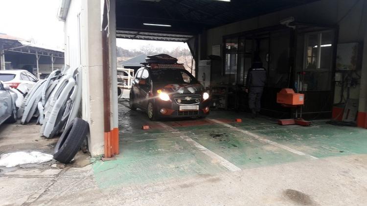 스파크, 6년차 자동차 정기검사