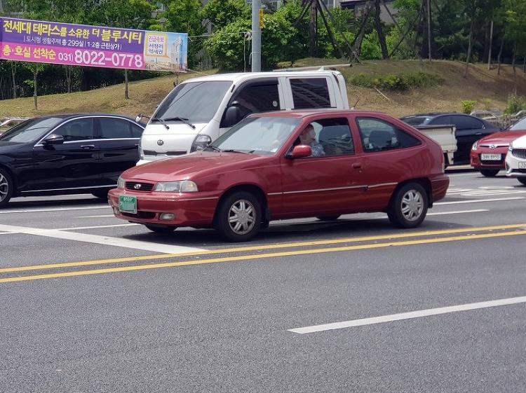 [목격] 1996 대우자동차 넥시아 3도어 (DAEWOO NEXIA 3DOOR)
