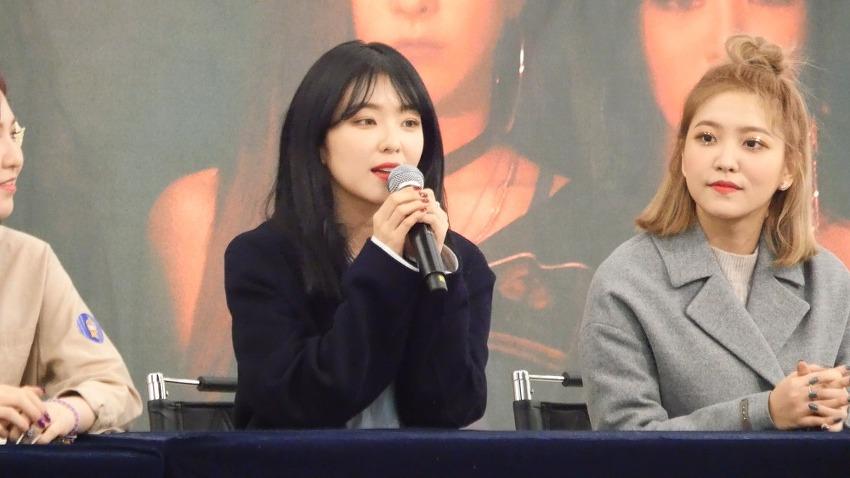 180202 영등포 타임스퀘어 레드벨벳 팬사인회..