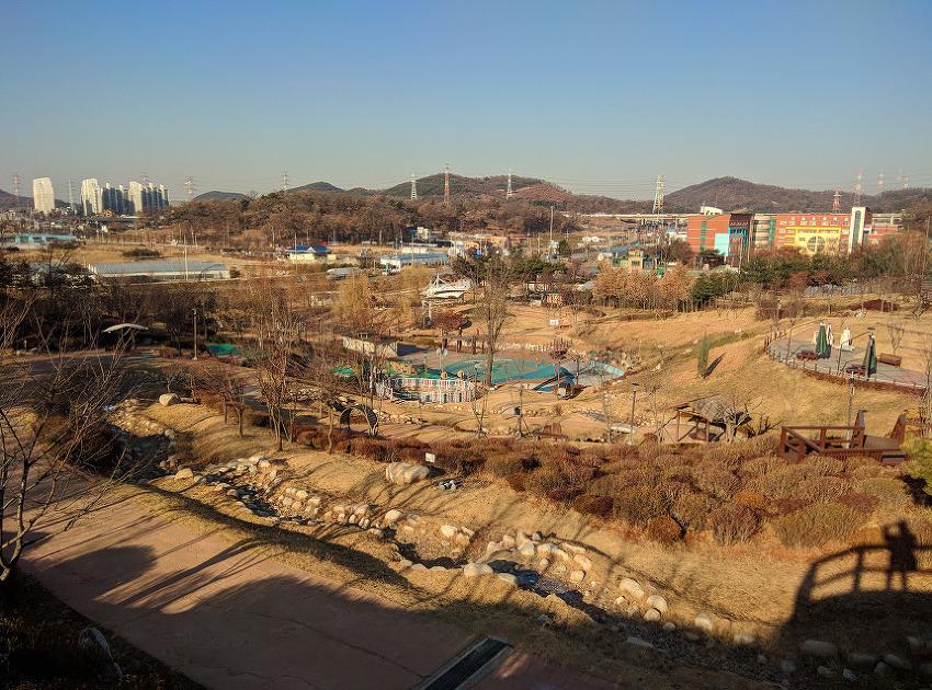 시흥 산들공원에서