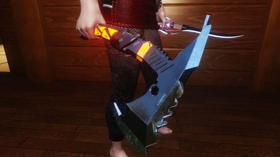 Tomahawk Combat Axe  by Oppressor [Version 1.0]