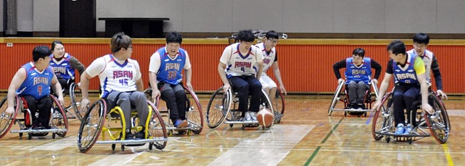삼성전자와 함께하는 휠스파워장애인농구단
