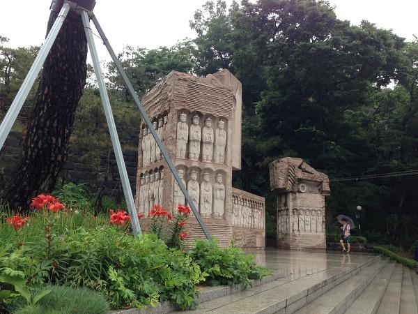 비오는 날의 산책 - 절두산 성지/양화진 외국인선교사 묘역