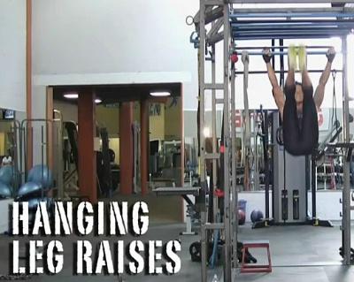 행잉 레그 레이즈(Hanging Leg Raises)