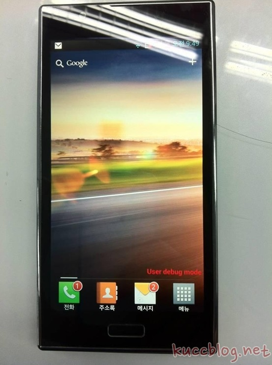 Leaked pic of Optimus LTE2