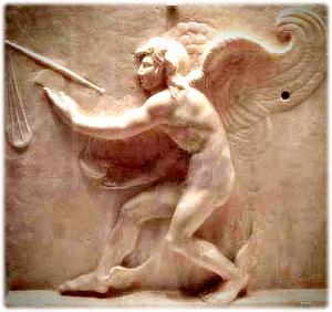 그리스 시라쿠 거리 동상