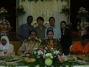 2006년 9월 3일 친구 결혼식 모습