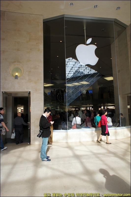파리에서 만난 애플 바람~