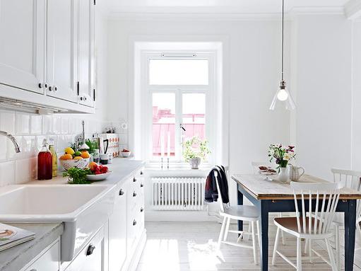 White Nordic Kitchen