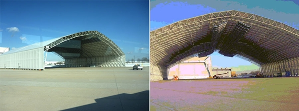뉴욕 JFK 공항의 터널식 제빙시설