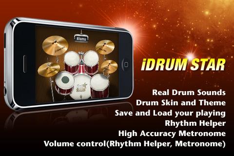 드럼 연주를 위한 iDrumStarPro