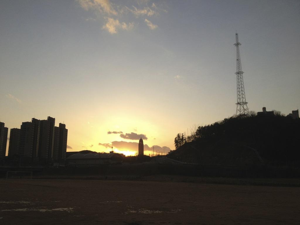 혜천대학교탑, 갑천자전거도로 사진 #4