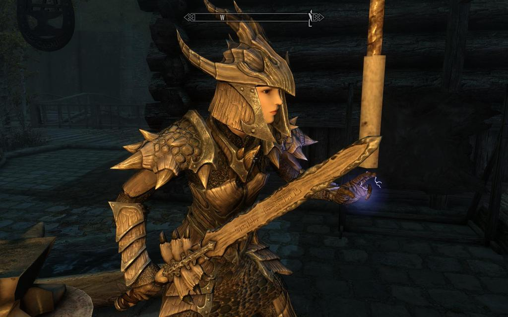 skyrim dragonbone weapon pack skyrim mod blog