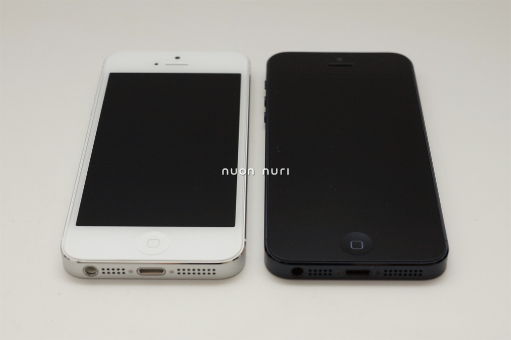 아이폰5 화이트 아이폰5 블랙 색상 비교 추천 개봉기
