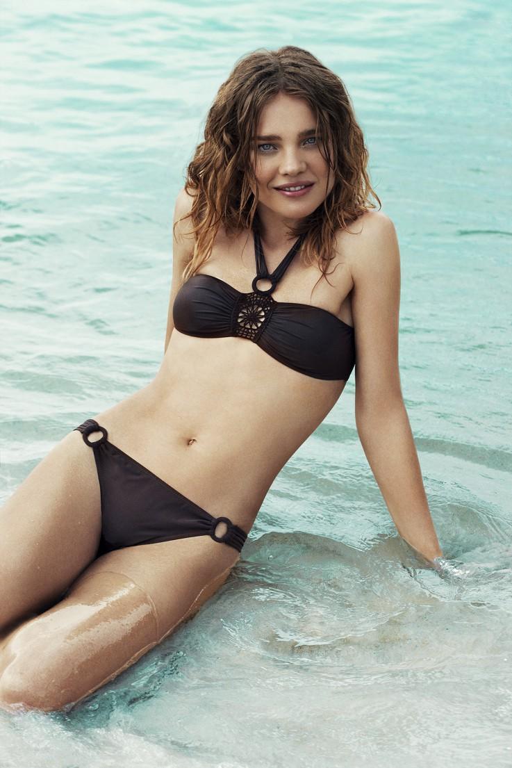 Etam Swimwear Spring/Summer 2011 Campaign (Natalia Vodianova, Ymre Stiekema and Flavia Lucini)
