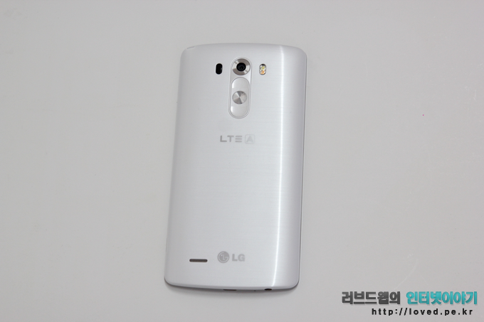 LG G3 개봉기, G3 디자인, G3 화이트