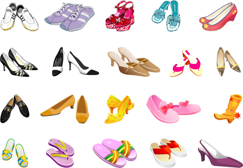 Kinds Of Shoes For Girls