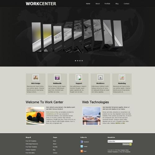 free dreamweaver cc templates -