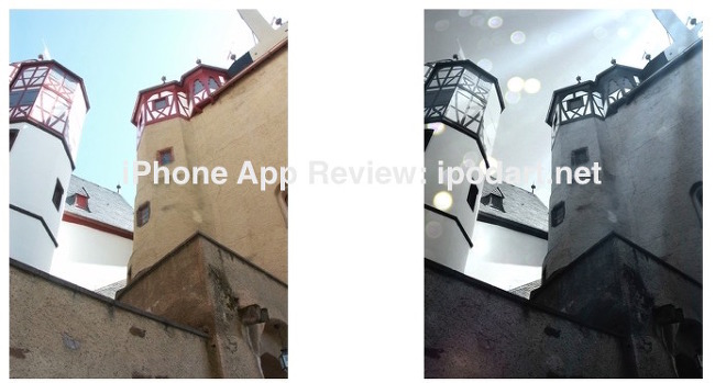 LensFlare 아이폰 사진 렌즈플레어 효과 추천 앱