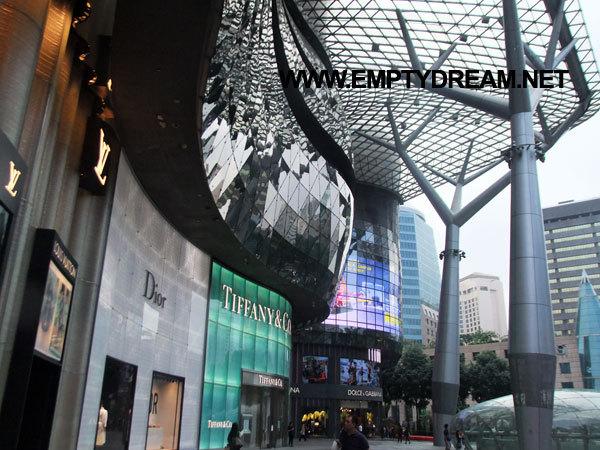 싱가포르 여행 - 아이온 스카이 전망대 ION SKY