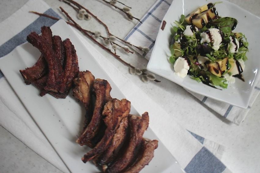 등갈비구이 2가지 맛으로 즐기기.주말요리로 굿