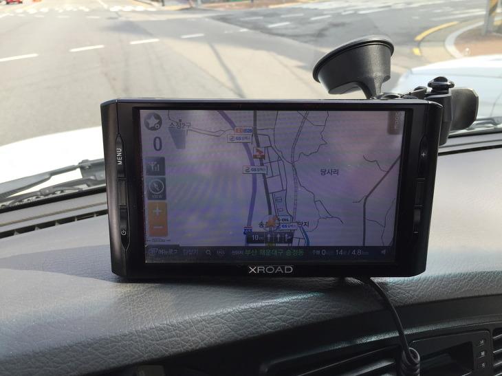 엑스로드 XROAD V7 네비 GPS 모듈 배터리 교체 후기 맵피 Mappy 네비게이션 수리