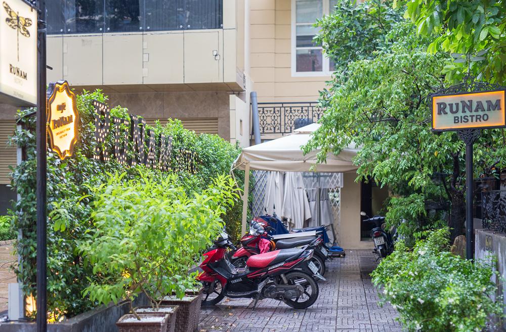 베트남 여행 호치민의 고급 카페 레스토랑, 루남 비스트로 Runam Bistro