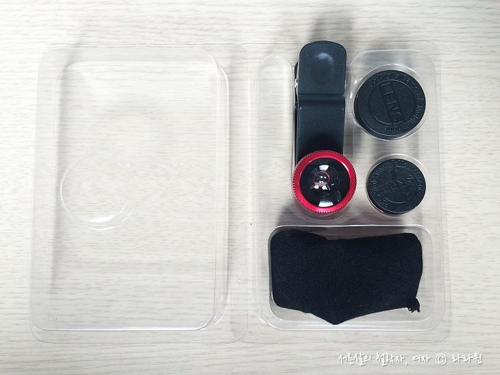 다이소 스마트폰 렌즈, 스마트폰 클립 렌즈