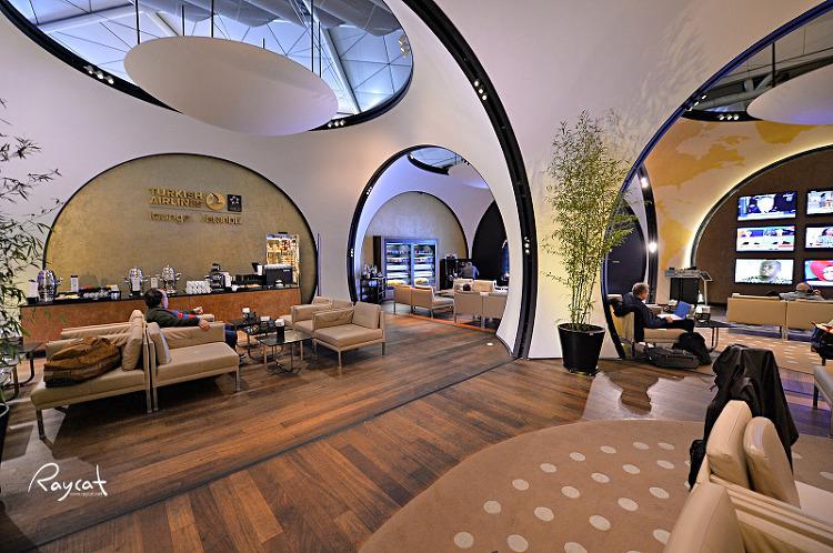 터키공항 터키항공 CIP 라운지 카페