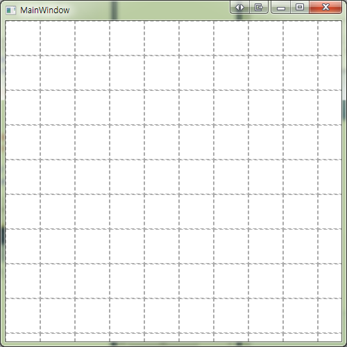 Drawing Grid Lines In Canvas Wpf : Jang s dev it wpf web c drawing