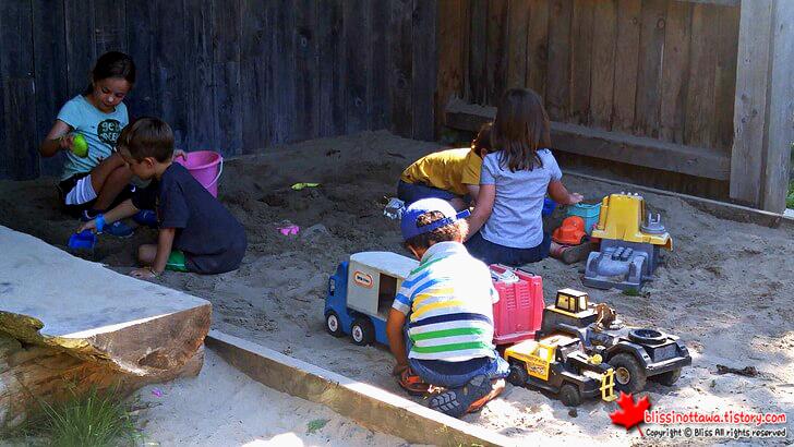 모래 놀이터