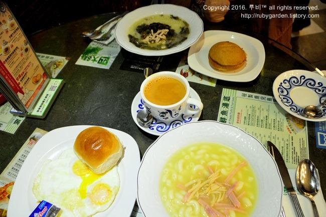 홍콩 여행 / 홍콩 맛집 / 서민형 차탄탱 취와 레스토랑(취화찬청,Tsui Wah Restaurant, Hong Kong)