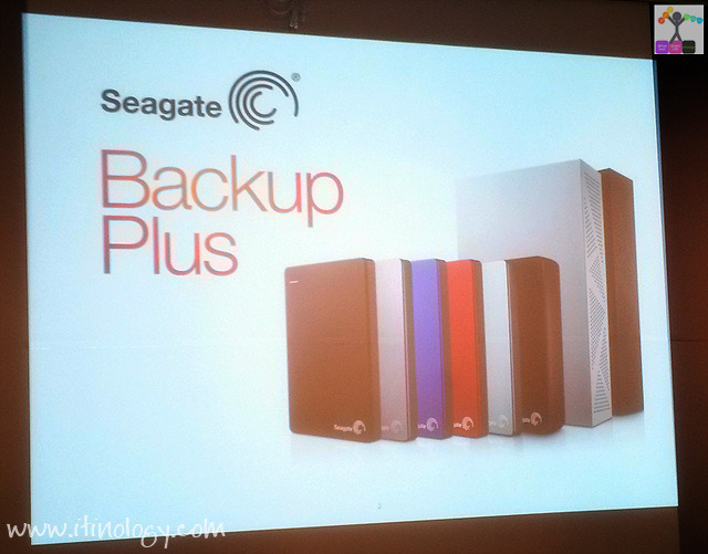 Seagate Backup Plus Fast & Backup Plus Slim
