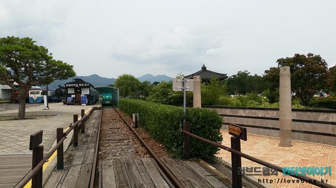 섬진강 기차마을 기차역