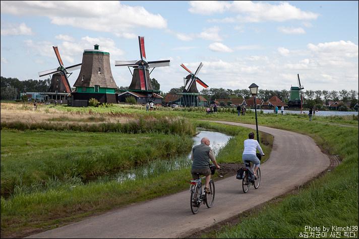 [네덜란드 #046] 풍차, 전통마을 그리고 나막신, 잔세스칸스(Zaanse Schans)