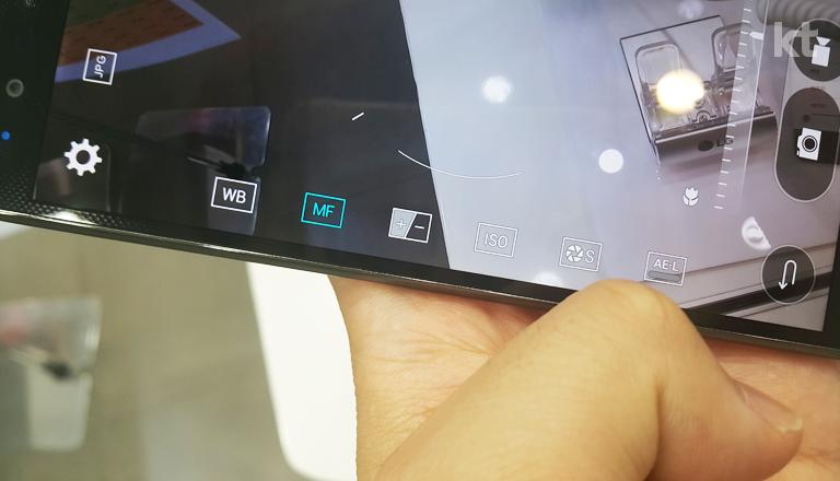 LG G4의 카메라 옵션 설정