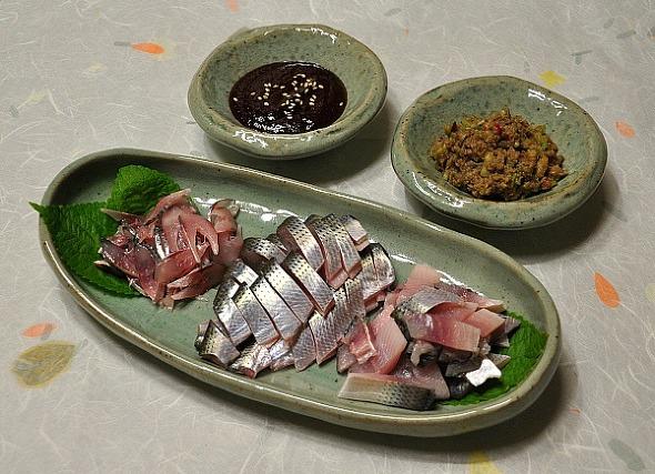 짜지않는 맛있는 고구마쌈장 & 전어회를 맛있게 먹을 수 있는 맛있는 쌈장만드는 법