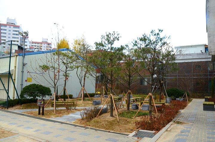 부천고등학교 학교숲 모퉁이숲