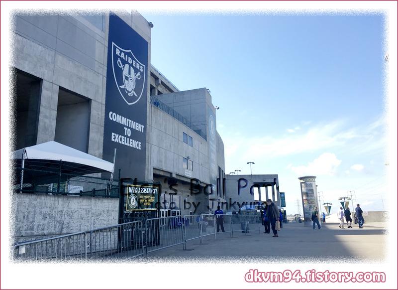 [MLB TOUR(14)] 오클랜드-앨러메다 카운티 콜리세움 : 오클랜드 어슬레틱스의 홈구장 (Oakland-Alameda County Coliseum : Home of the Oakland Athletics)
