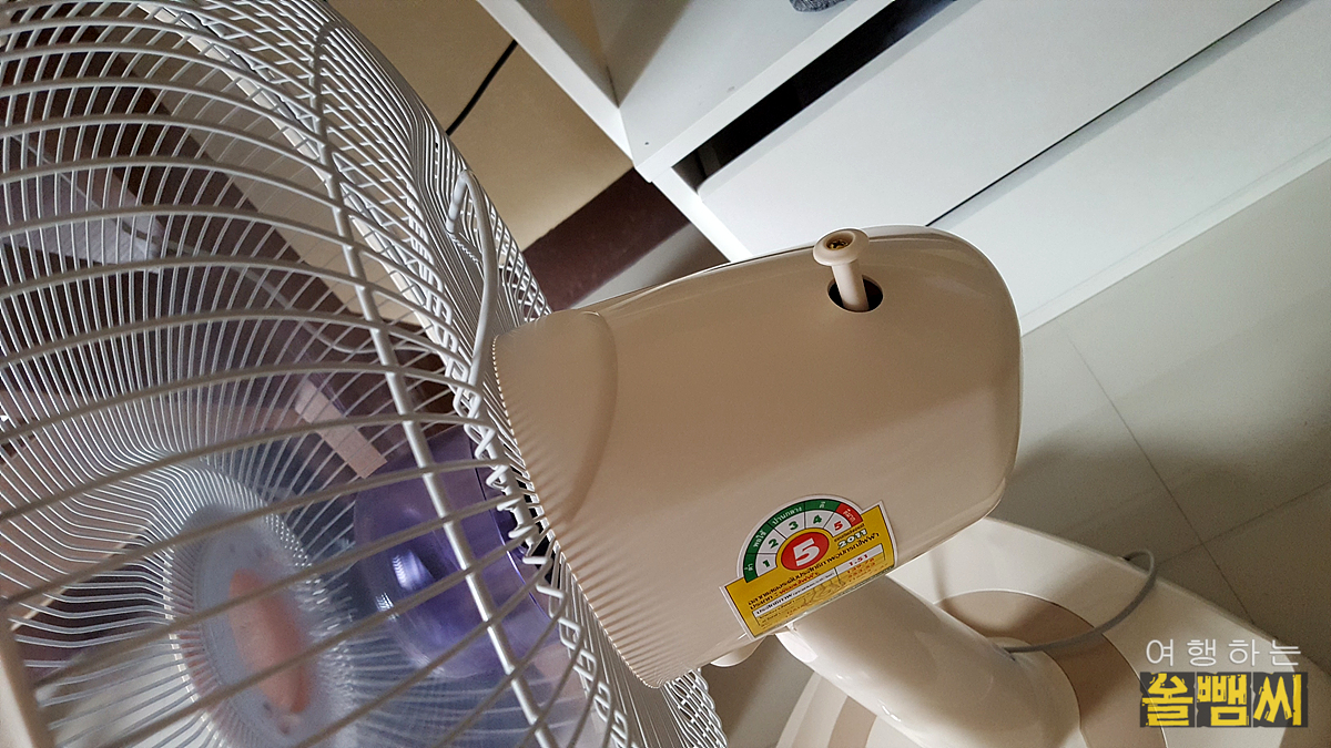 선풍기의 회전 기능