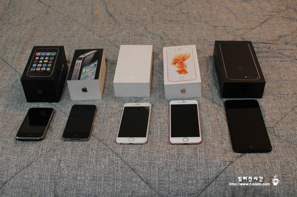 아이폰3GS, 4, 6, 6S, 7+