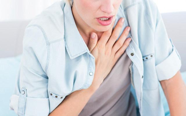 숨이가쁜원인 심장마비전조증상